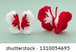 martenitsa  white and red...   Shutterstock . vector #1310054695