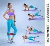 sports background.  multi... | Shutterstock . vector #1310058682