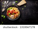 delicious appetizing classic... | Shutterstock . vector #1310067178