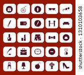 elegance icon set with table... | Shutterstock .eps vector #1310103658