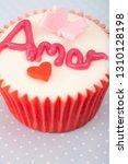 still life saint valentine... | Shutterstock . vector #1310128198