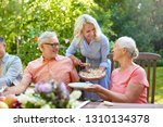 leisure  holidays and people... | Shutterstock . vector #1310134378