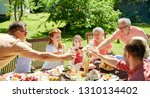 leisure  holidays and people... | Shutterstock . vector #1310134402