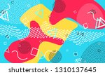 pop art color background.... | Shutterstock .eps vector #1310137645