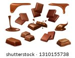 chocolate vector icons ...   Shutterstock .eps vector #1310155738