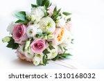 delicate wedding details | Shutterstock . vector #1310168032
