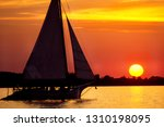Skipjack Under Full Sail At...