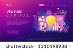 capital fund financing small... | Shutterstock .eps vector #1310198938