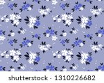 cute floral pattern in the... | Shutterstock .eps vector #1310226682