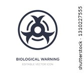 biological warning icon on... | Shutterstock .eps vector #1310227555