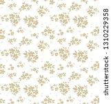 elegant floral pattern in small ... | Shutterstock .eps vector #1310229358