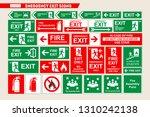 set of vector signs of... | Shutterstock .eps vector #1310242138