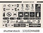 set of vector signs of... | Shutterstock .eps vector #1310244688