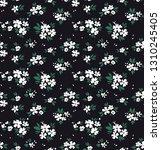 elegant floral pattern in small ... | Shutterstock .eps vector #1310245405