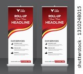 roll up banner design template  ... | Shutterstock .eps vector #1310248015