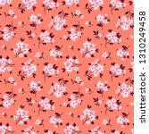 elegant floral pattern in small ... | Shutterstock .eps vector #1310249458