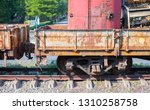 trains that are used to... | Shutterstock . vector #1310258758
