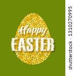 vector illustration of easter... | Shutterstock .eps vector #1310270995