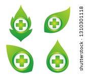 set health cross for medical... | Shutterstock .eps vector #1310301118