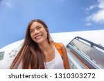 airport travel plane arrival... | Shutterstock . vector #1310303272