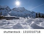 view of the mountains around... | Shutterstock . vector #1310310718