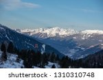view of the mountains around... | Shutterstock . vector #1310310748