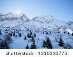 view of the mountains around... | Shutterstock . vector #1310310775