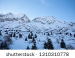 view of the mountains around... | Shutterstock . vector #1310310778
