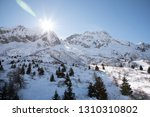 view of the mountains around... | Shutterstock . vector #1310310802