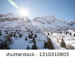 view of the mountains around... | Shutterstock . vector #1310310805