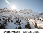 view of the mountains around... | Shutterstock . vector #1310310808