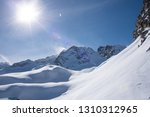 view of the mountains around... | Shutterstock . vector #1310312965