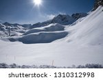 view of the mountains around... | Shutterstock . vector #1310312998