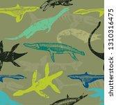 seamless  camouflage shark...   Shutterstock .eps vector #1310316475