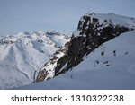 view of the mountains around... | Shutterstock . vector #1310322238