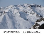view of the mountains around... | Shutterstock . vector #1310322262