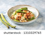 italian risotto with shrimps ...   Shutterstock . vector #1310329765
