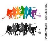 color sport background....   Shutterstock .eps vector #1310331202