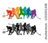 color sport background.... | Shutterstock .eps vector #1310331208