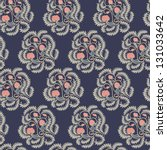 seamless pattern with... | Shutterstock .eps vector #131033642
