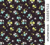 cute floral pattern in the... | Shutterstock .eps vector #1310337112