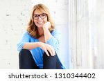 portrait shot of beautiful... | Shutterstock . vector #1310344402
