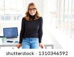 portrait shot of attractive... | Shutterstock . vector #1310346592