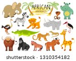 african animals collection...   Shutterstock . vector #1310354182