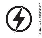 lightning  electric power... | Shutterstock .eps vector #1310380432