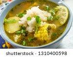 Peruvian Cilantro Chicken Soup...