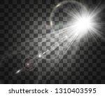 special lens flash  light... | Shutterstock .eps vector #1310403595