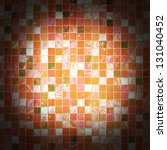 the color ceramic mosaic... | Shutterstock . vector #131040452