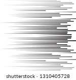 speed lines in arrow form .... | Shutterstock .eps vector #1310405728