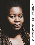 portrait of african american... | Shutterstock . vector #1310408875